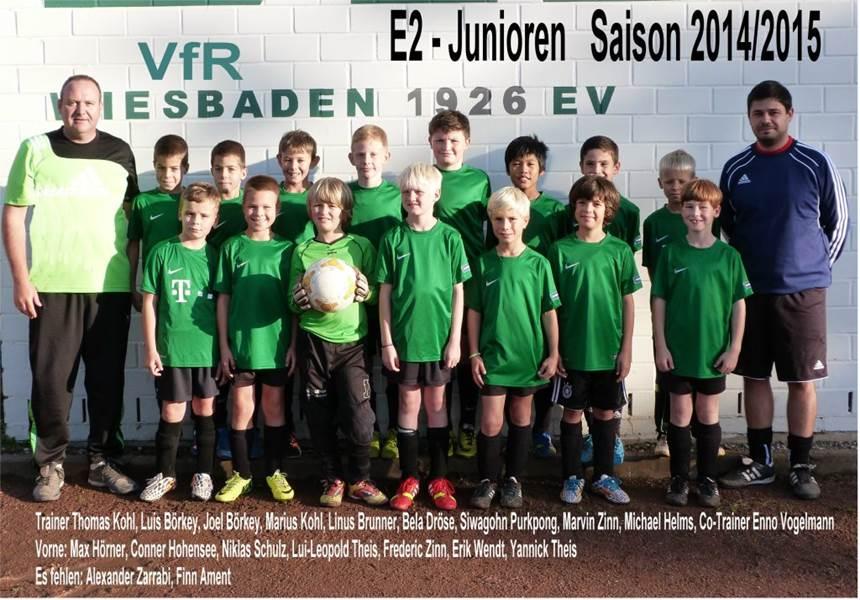 E-Jugend Gruppenfoto