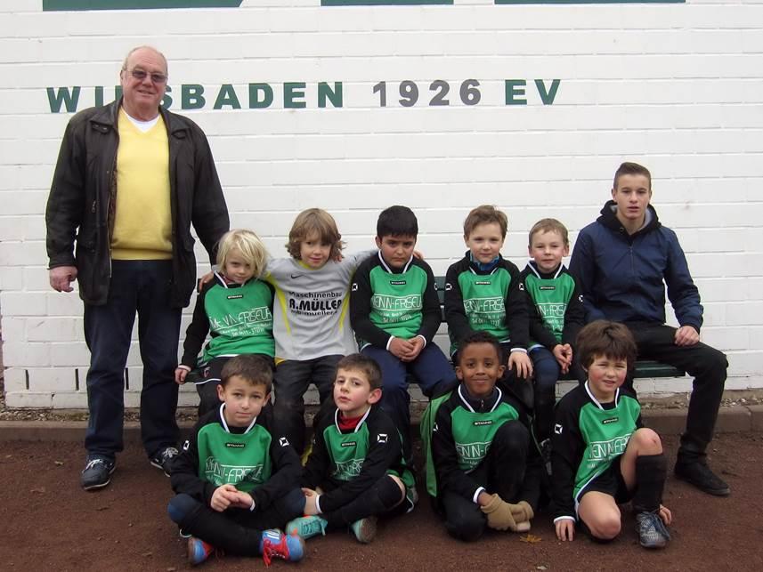 G-Jugend Gruppenfoto